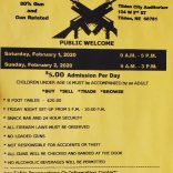 29th Annual Tilden Legion Post 170 Gun Show